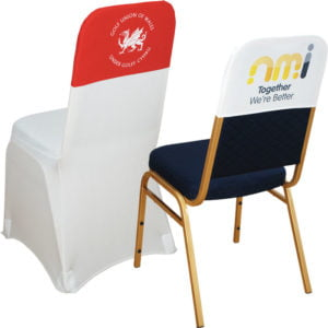 Flood Printed Chair Cap Double Sided Standard Polyester
