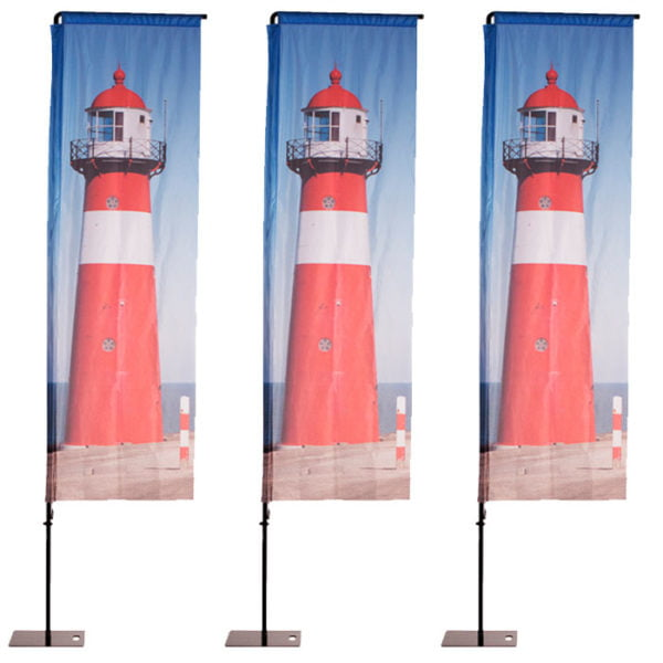 Square Feather Flags