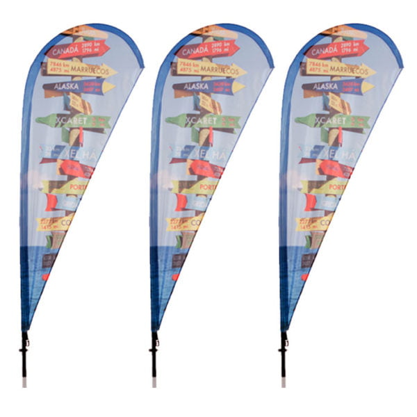 Teardrop Feather Flags