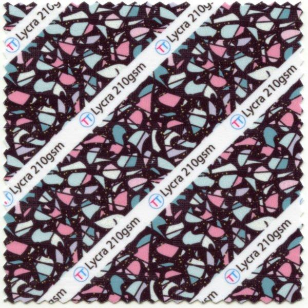 Lycra Printed Fabric