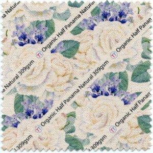 Organic Cotton Half Panama (Natural)