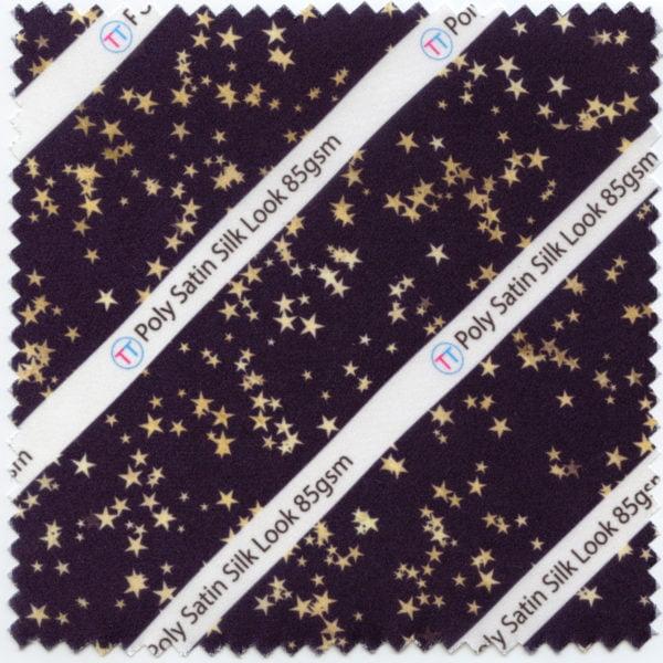 Poly Satin Silk Look Printed Fabric